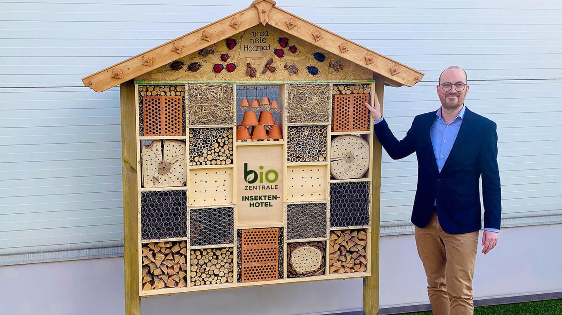 Bio-Zentrale Insektenhotel