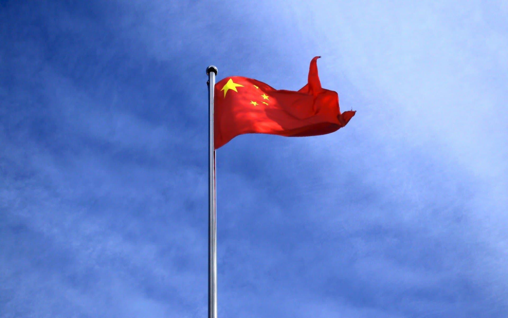 China Staatsflagge