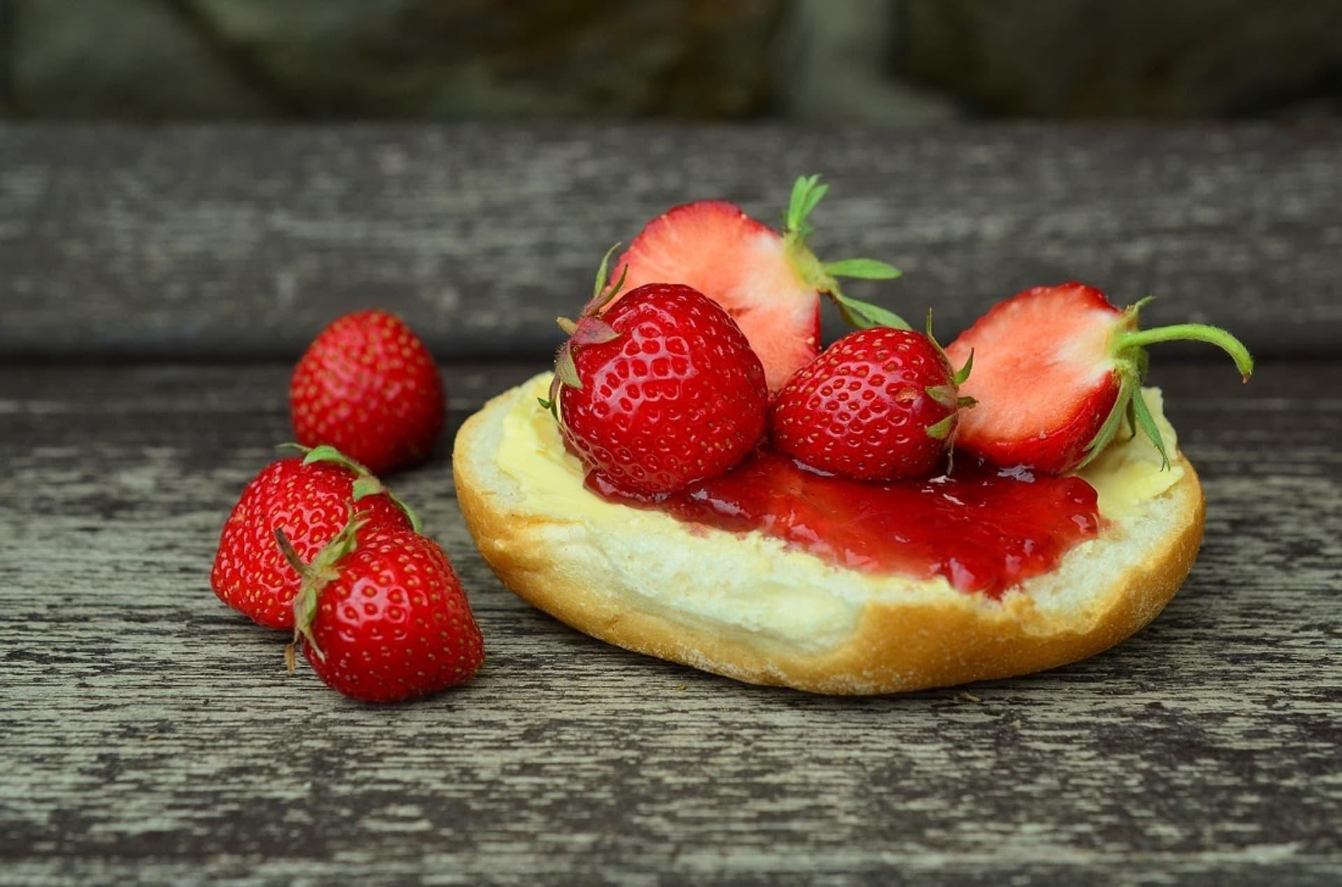 Erdbeeraufstrich