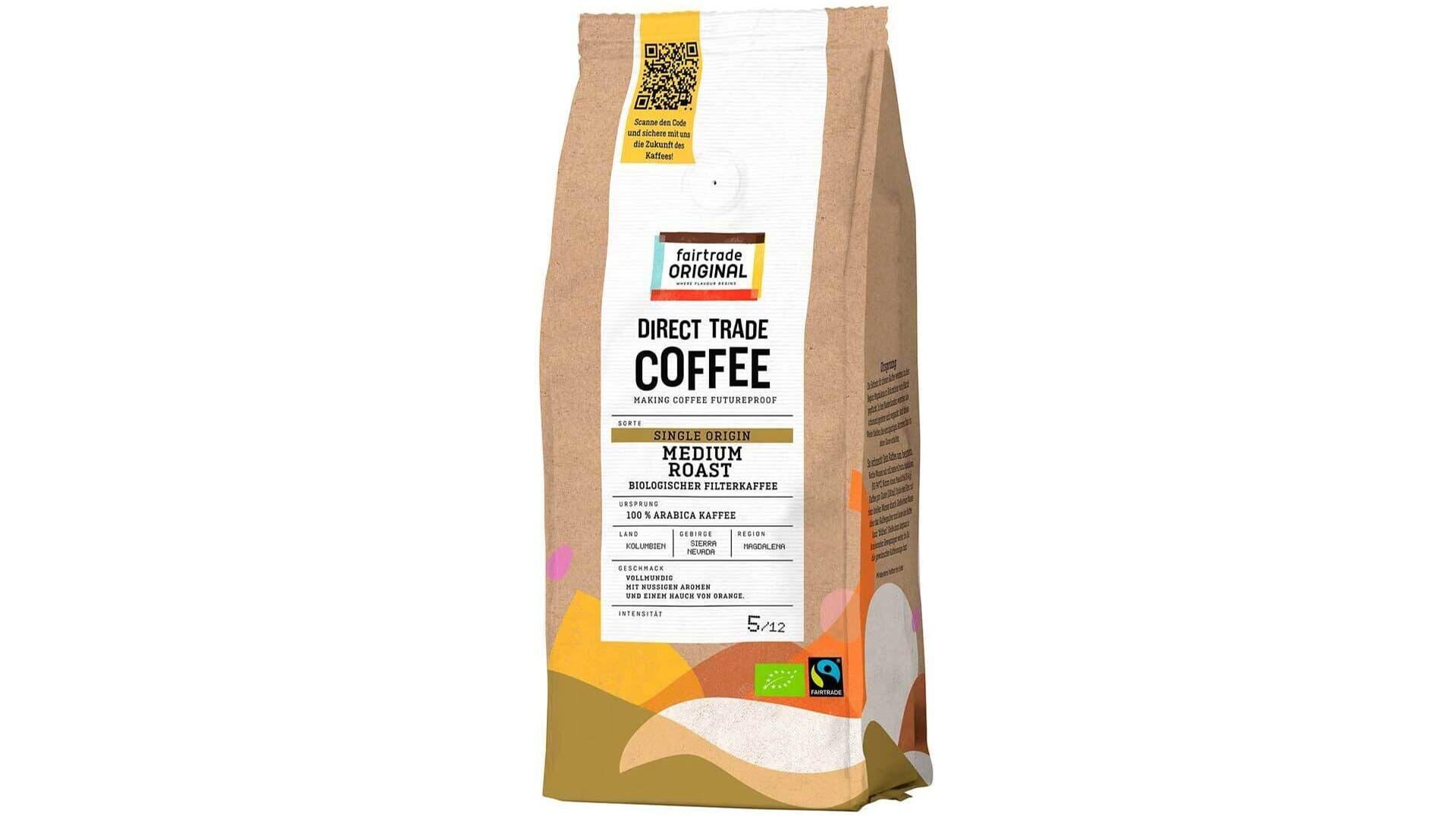 Kaffee von Fairtrade Original