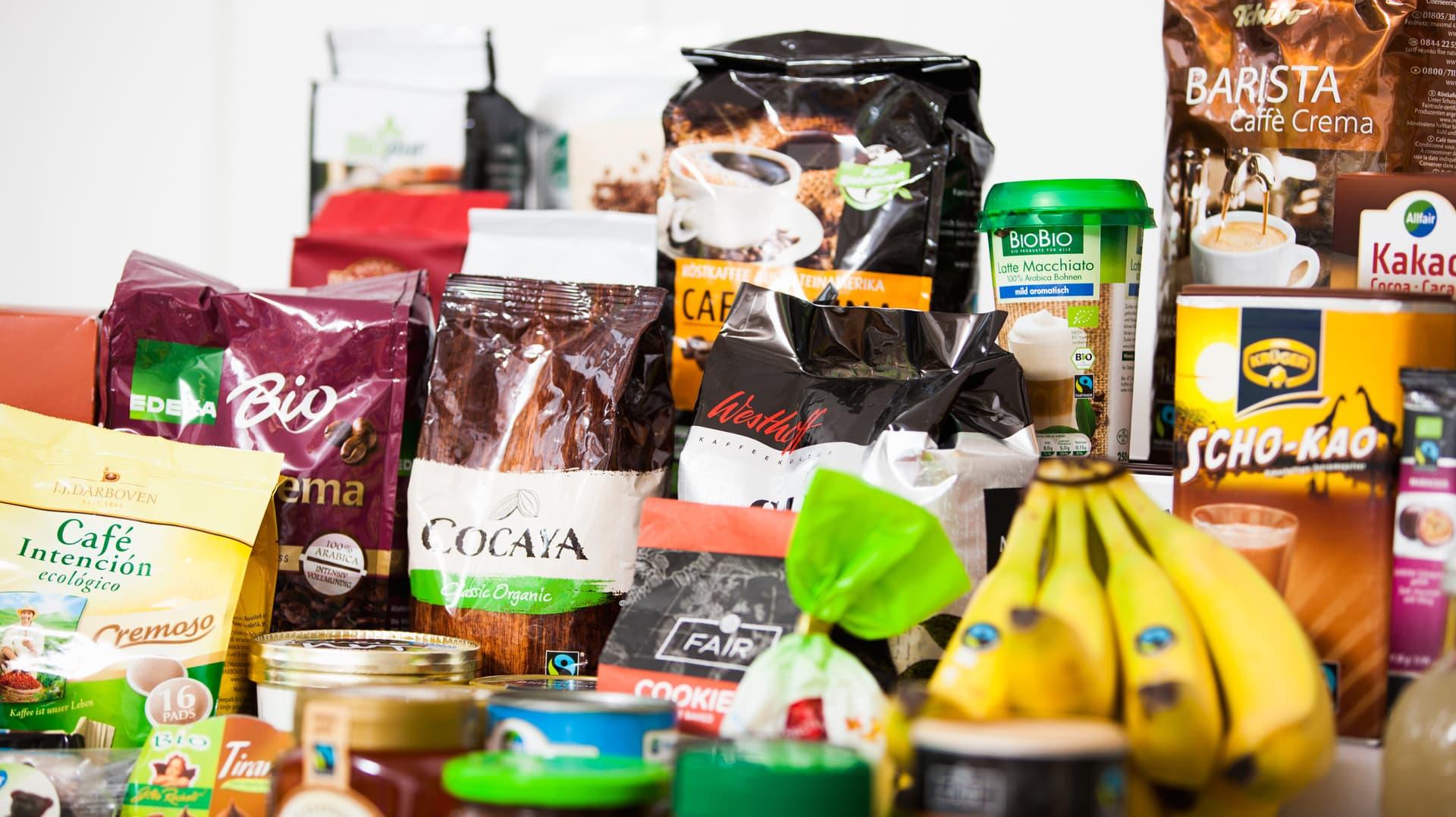 Fairtrade Produkte