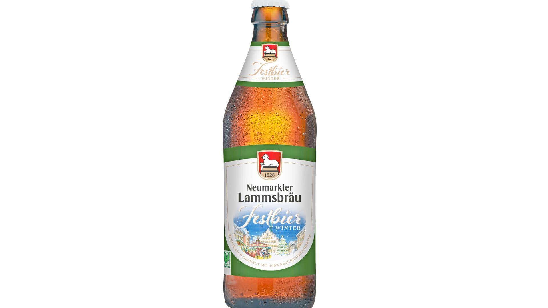 Festbier Winter von Neumarkter Lammsbräu