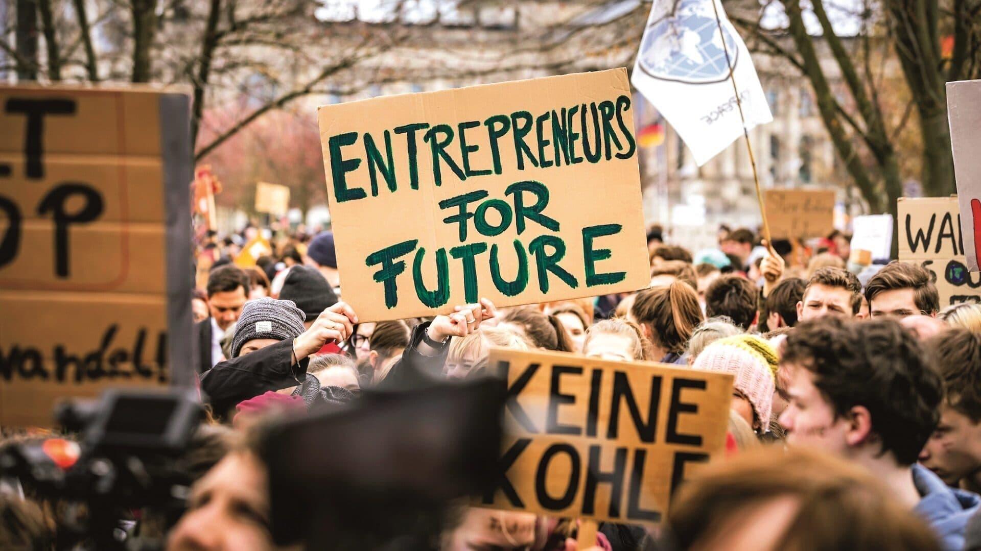Fridays for Future-Aktivisten auf Demo