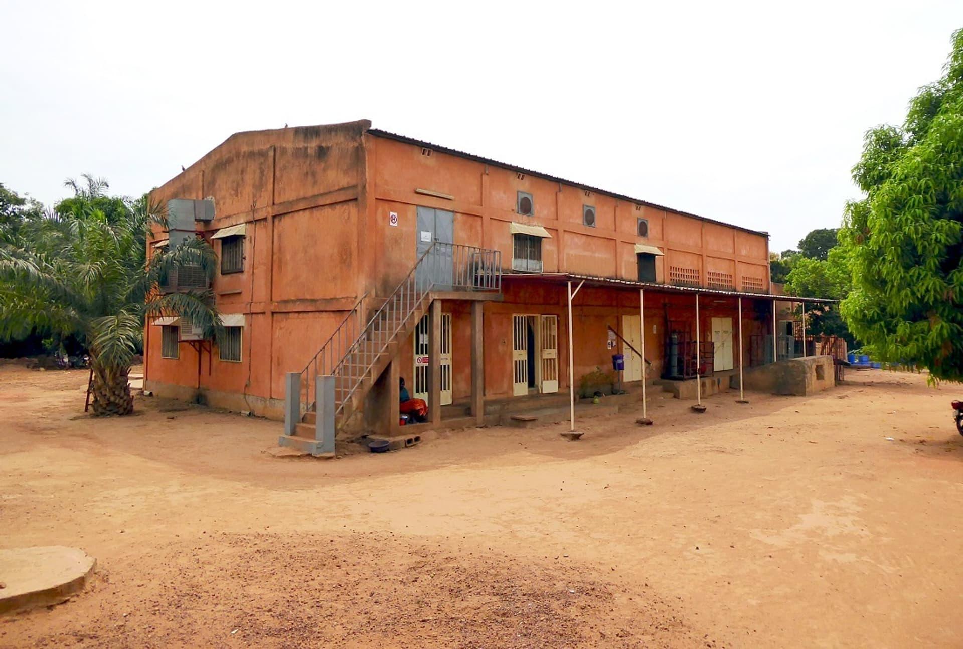 Cashew-Fabrik in Burkina Faso