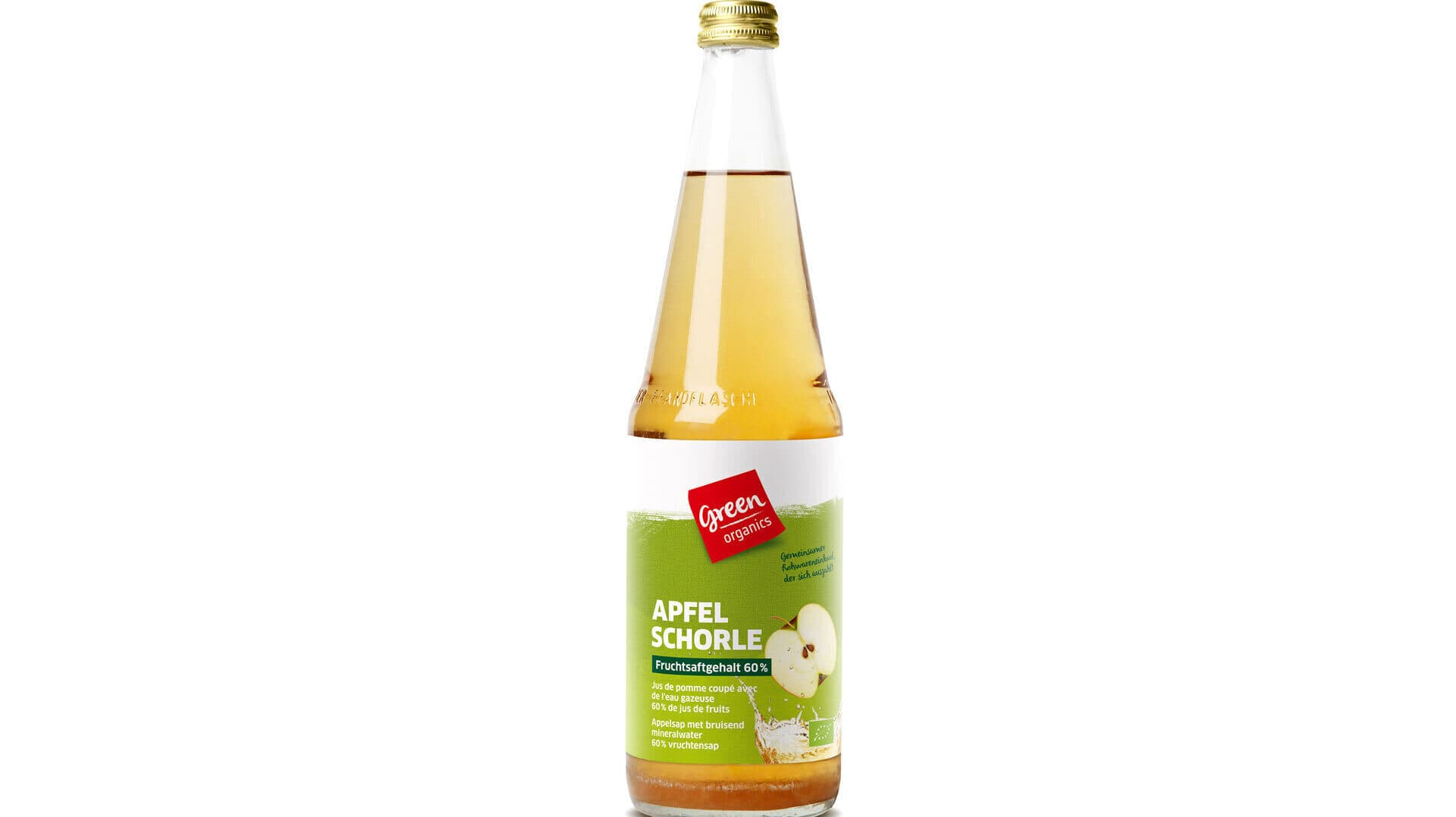 Green Organics Apfelschorle