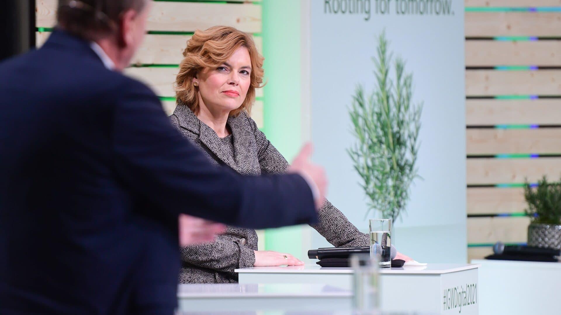 Julia Klöckner, Internationale Grüne Woche 2021