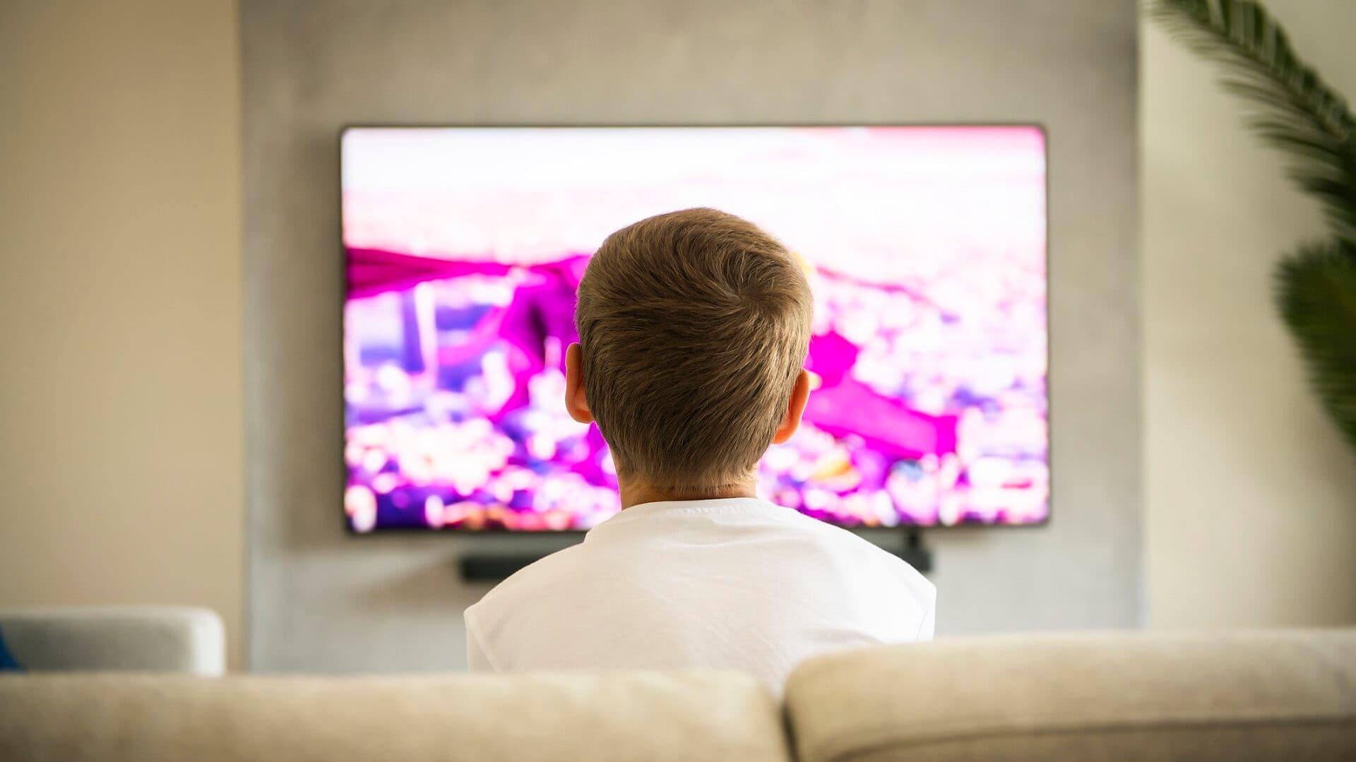 Kind, Werbung, TV, Fernsehen