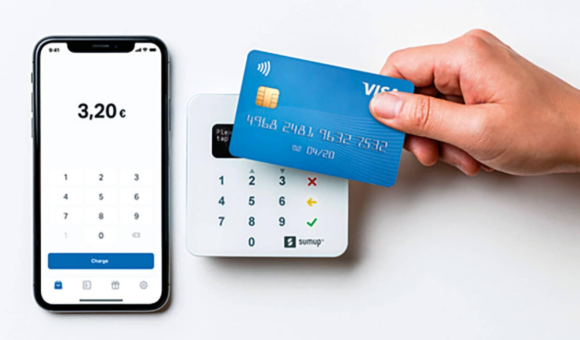 Kartenzahlungen mit dem SMartphone abwickeln