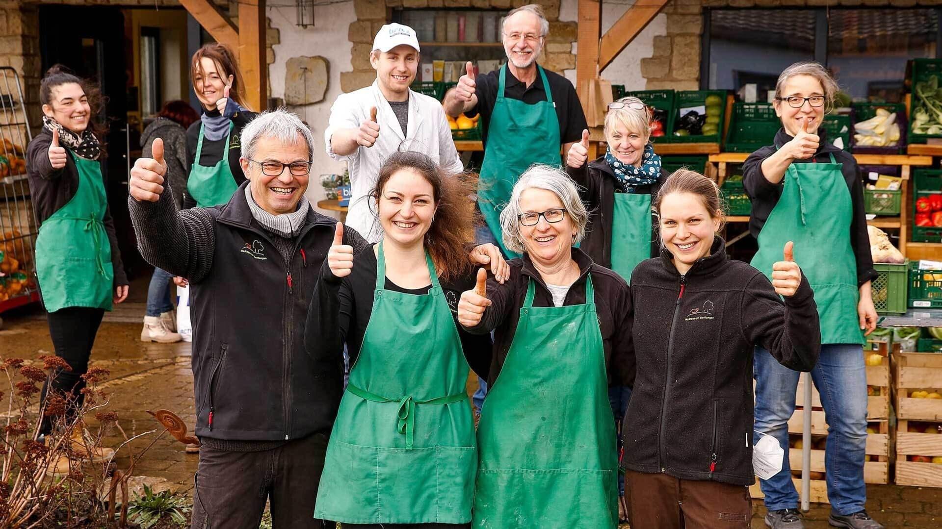 Das Team des Marienhofs Gerlfangen