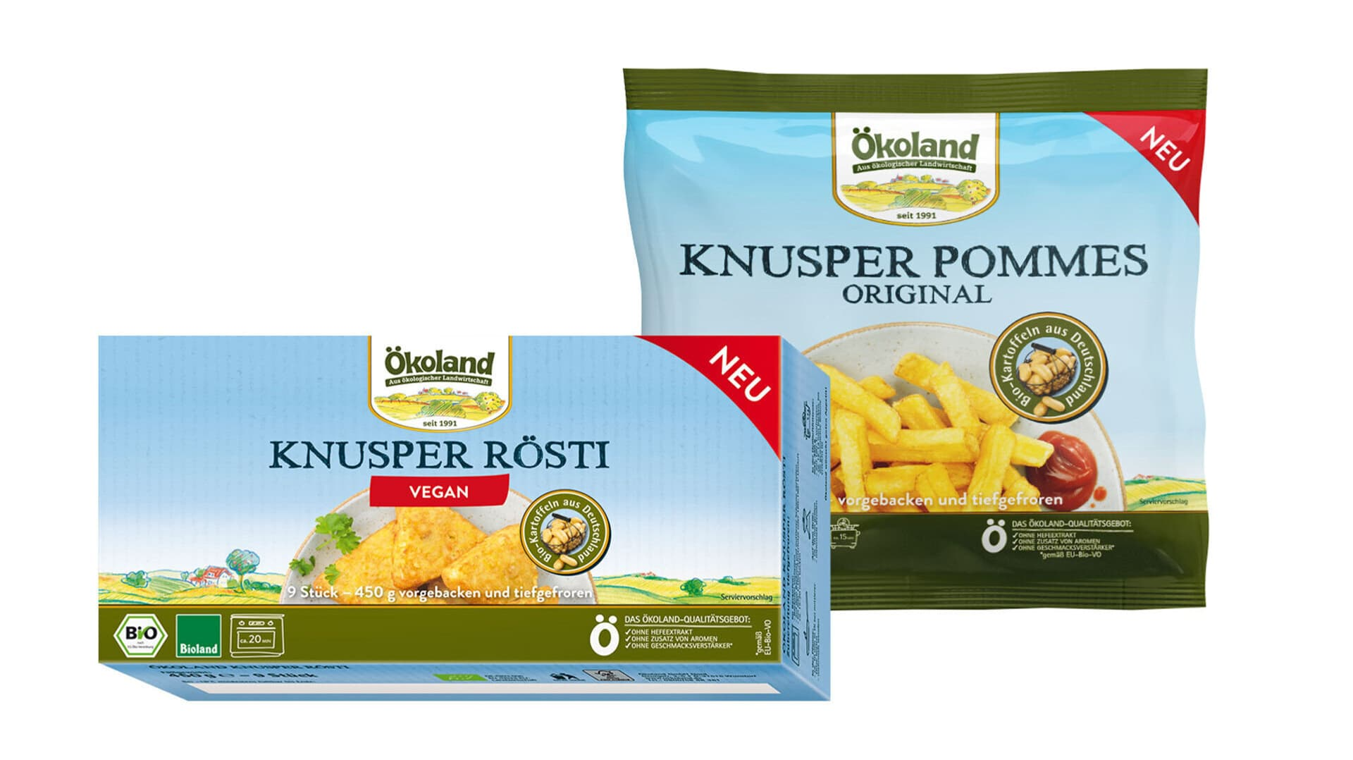 Oekoland Produkte