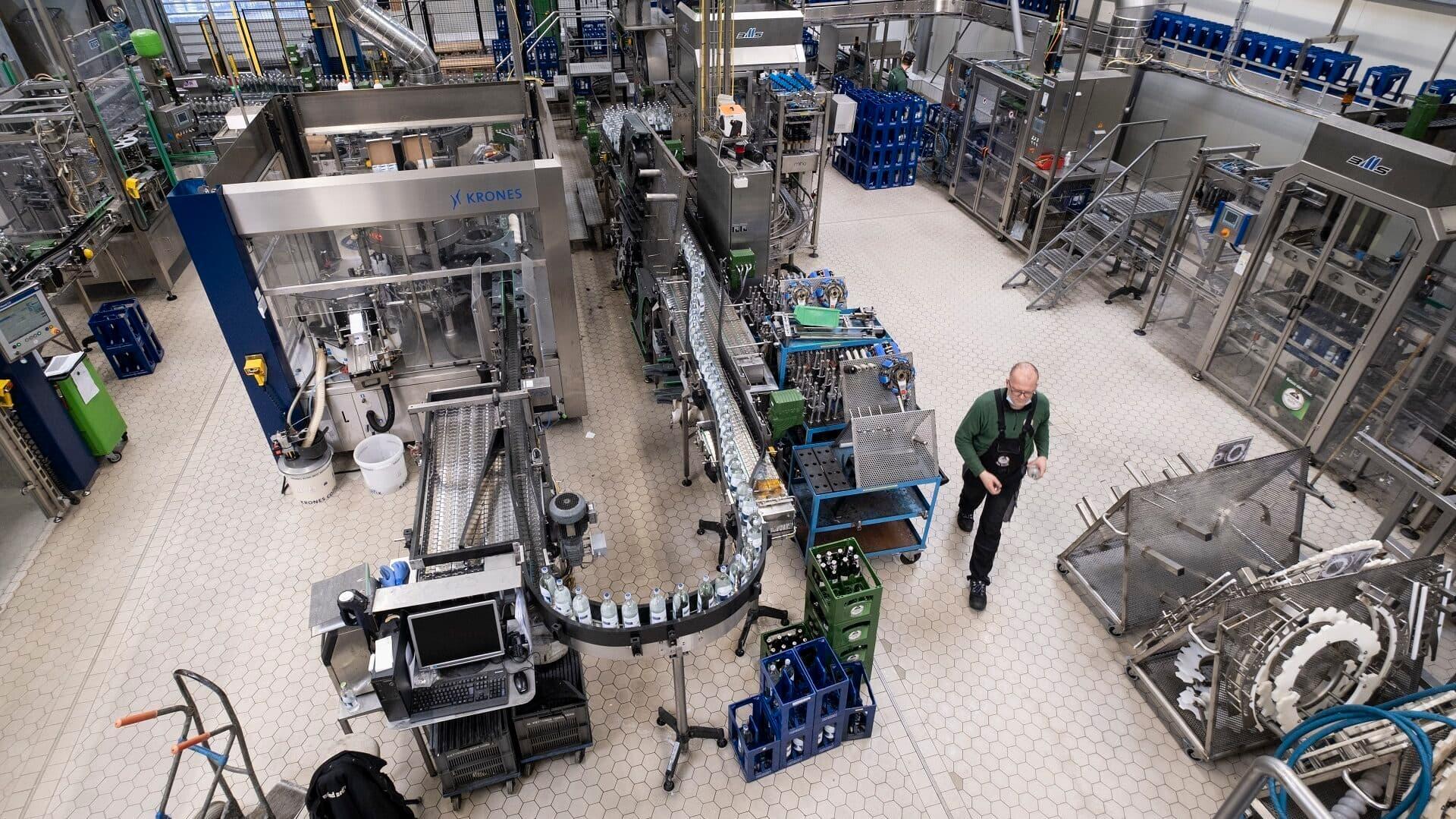 Produktionshalle bei Hornberger Lebensquell