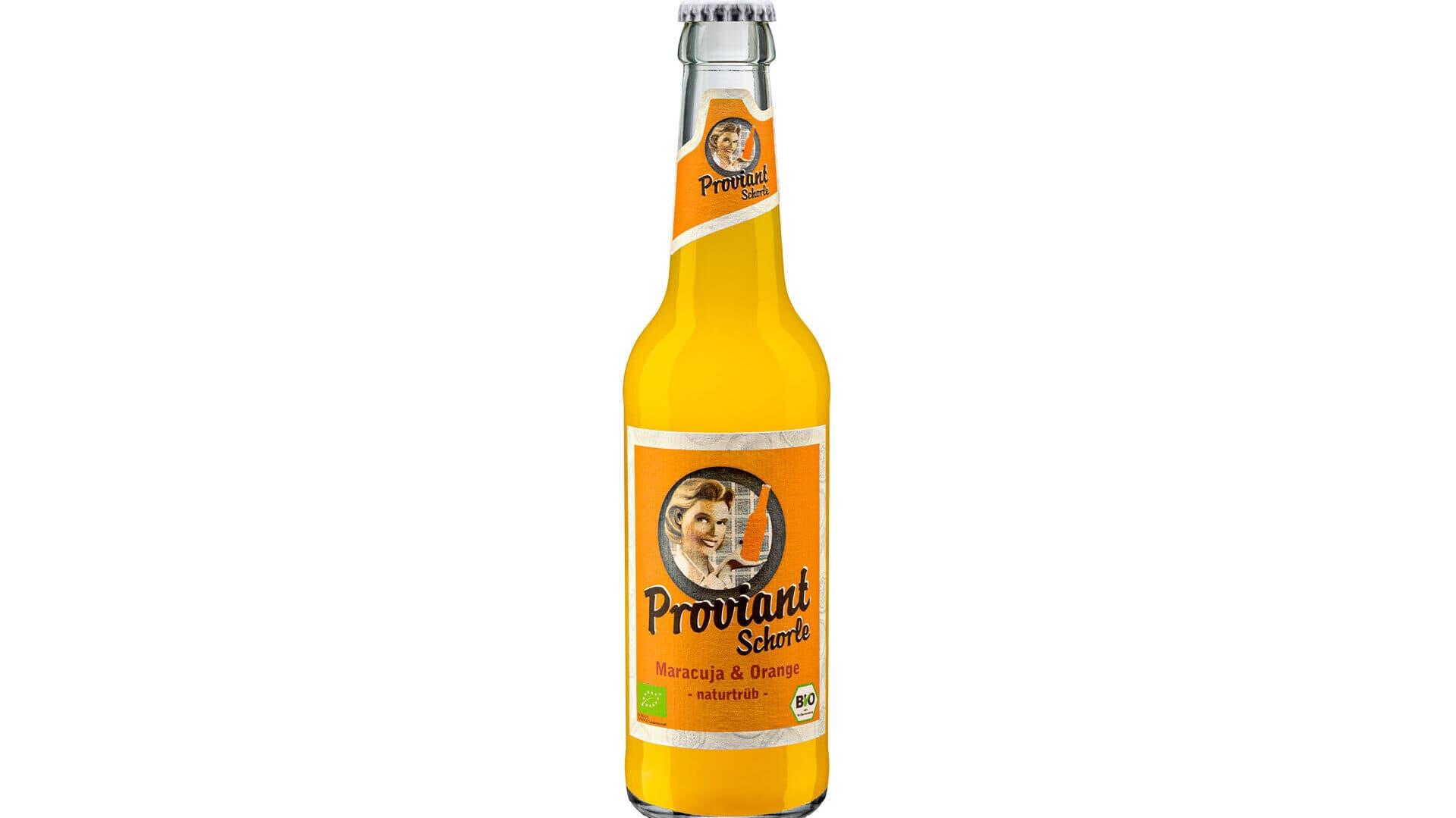 Maracuja-Orange-Schorle von Proviant