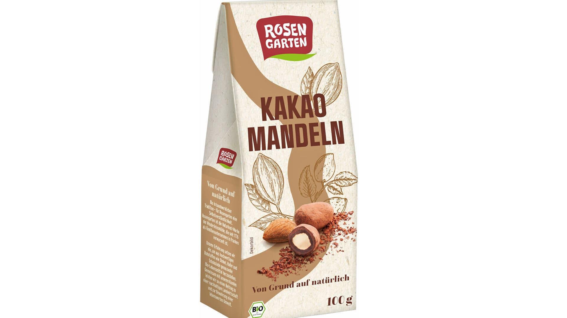 Kakao Mandeln von Rosengarten