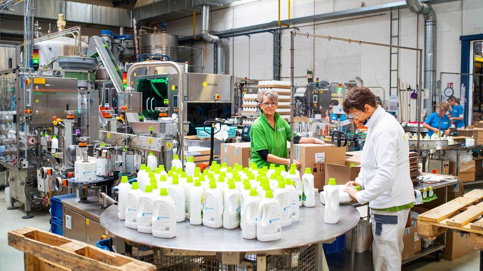 Produktion bei Sodasan