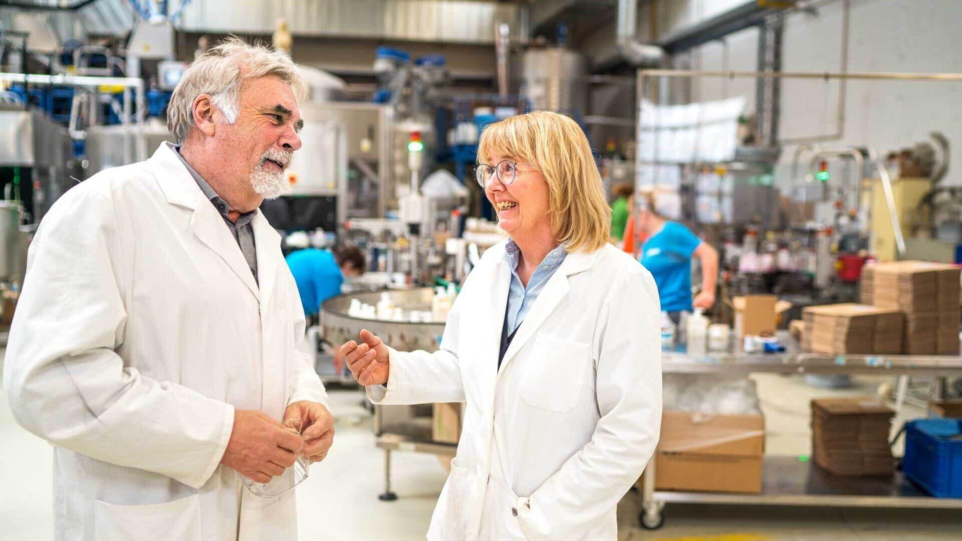 Sodasan-Gründerpaar Jürgen Hack und Kerstin Stromberg