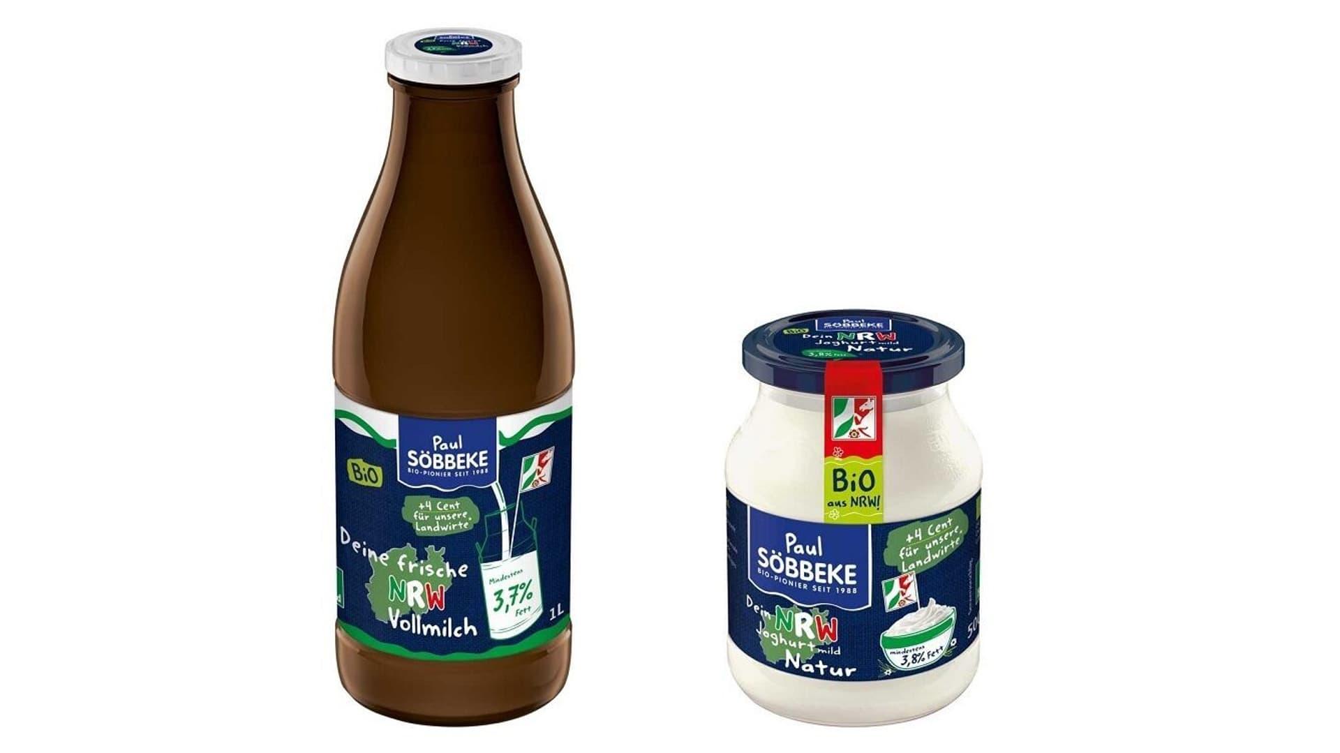 Produkte der NRW-Linie von Söbbeke