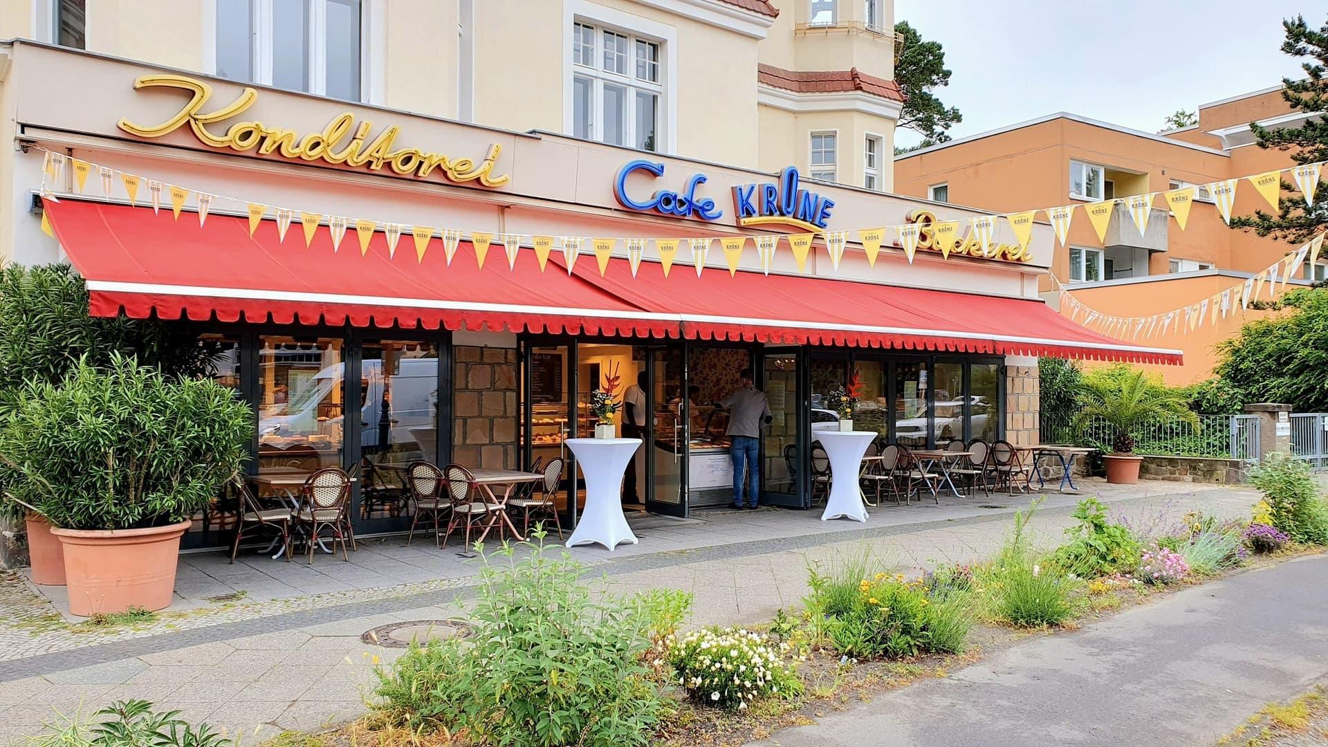 Aussenansicht Cafe Krone
