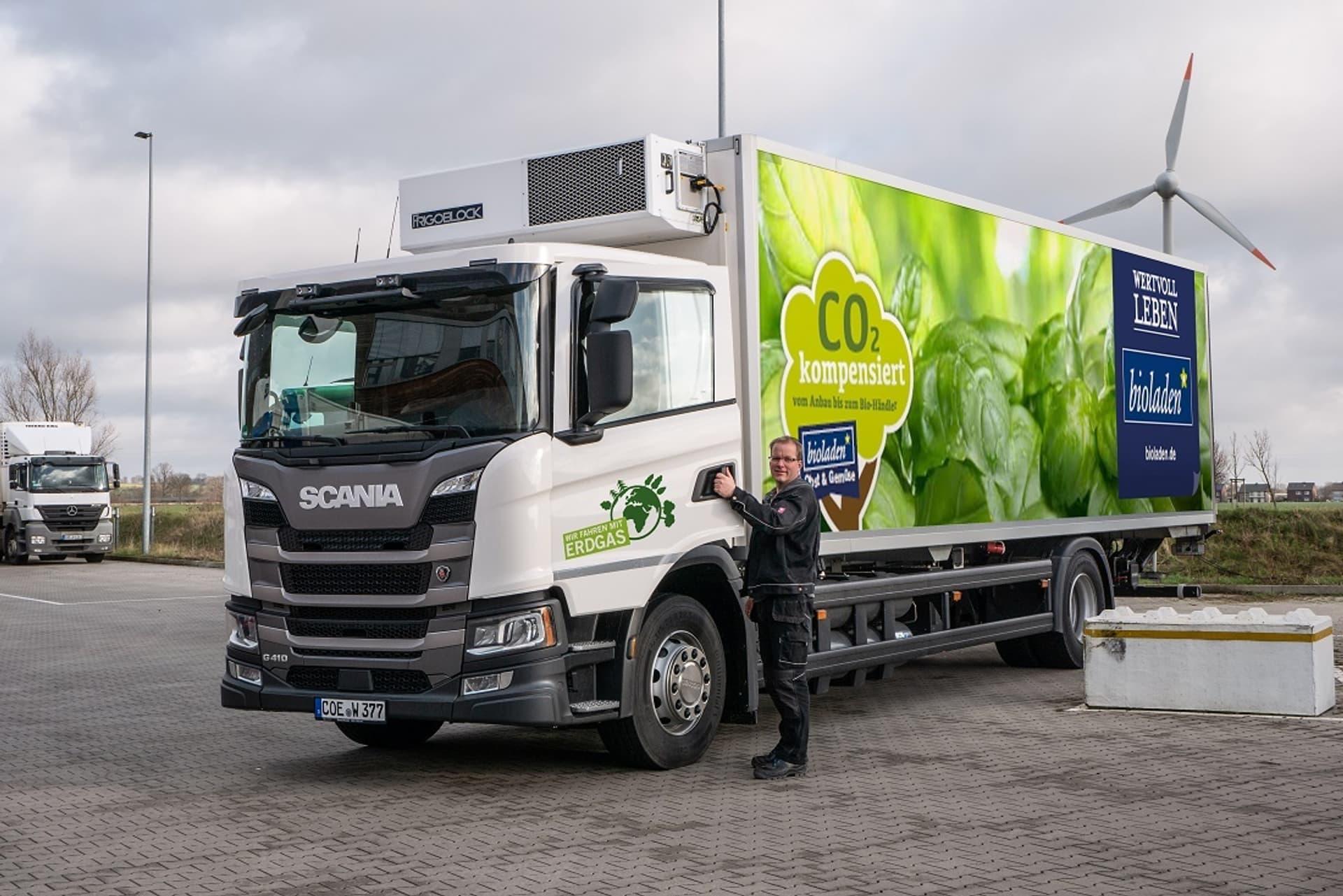Stellt die ersten sieben Lkw seiner Flotte auf Erdgas-Antrieb um: Großhändler Weiling