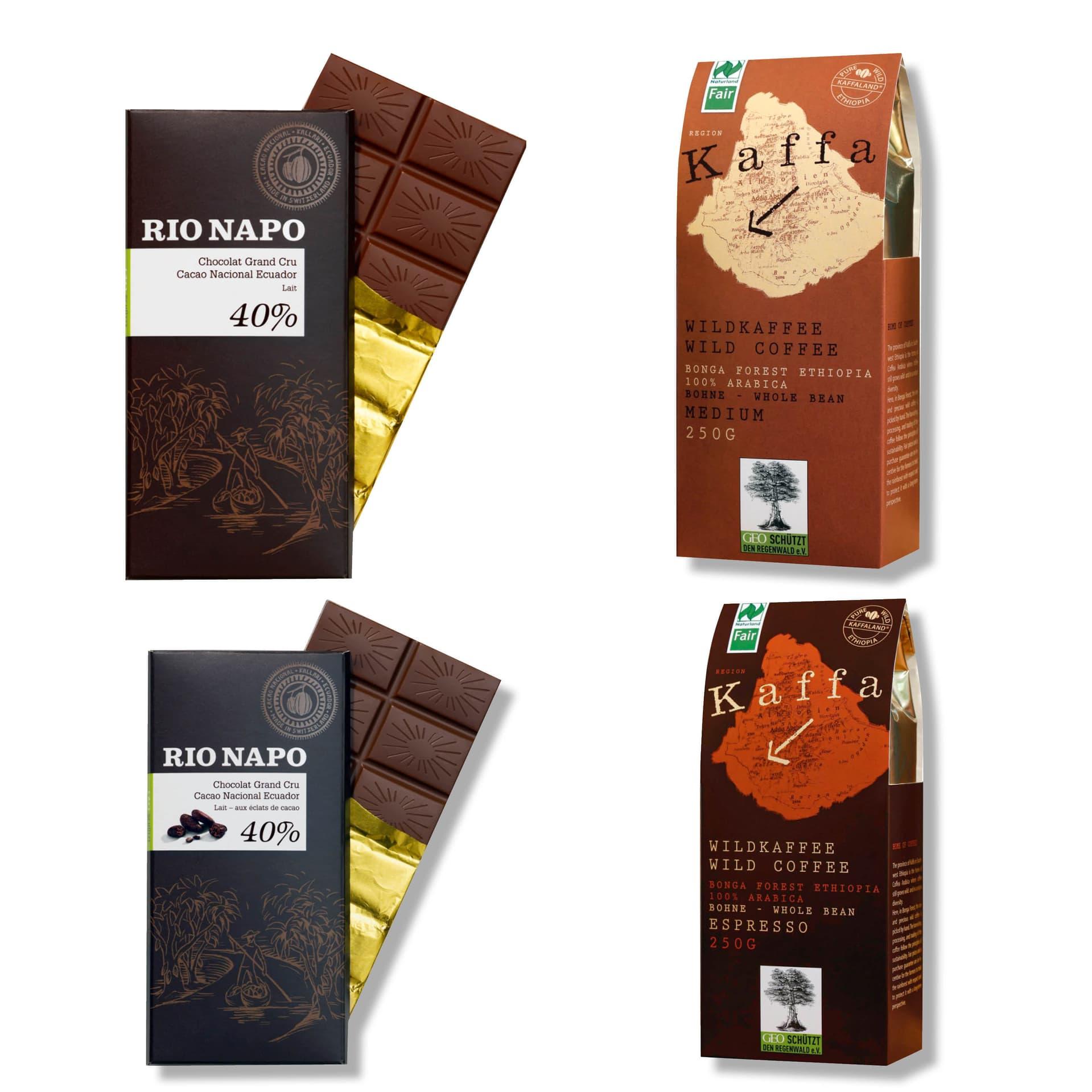 Schokolade und Kaffee von Original Food