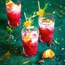 Granatapfel Clementinen Cocktail