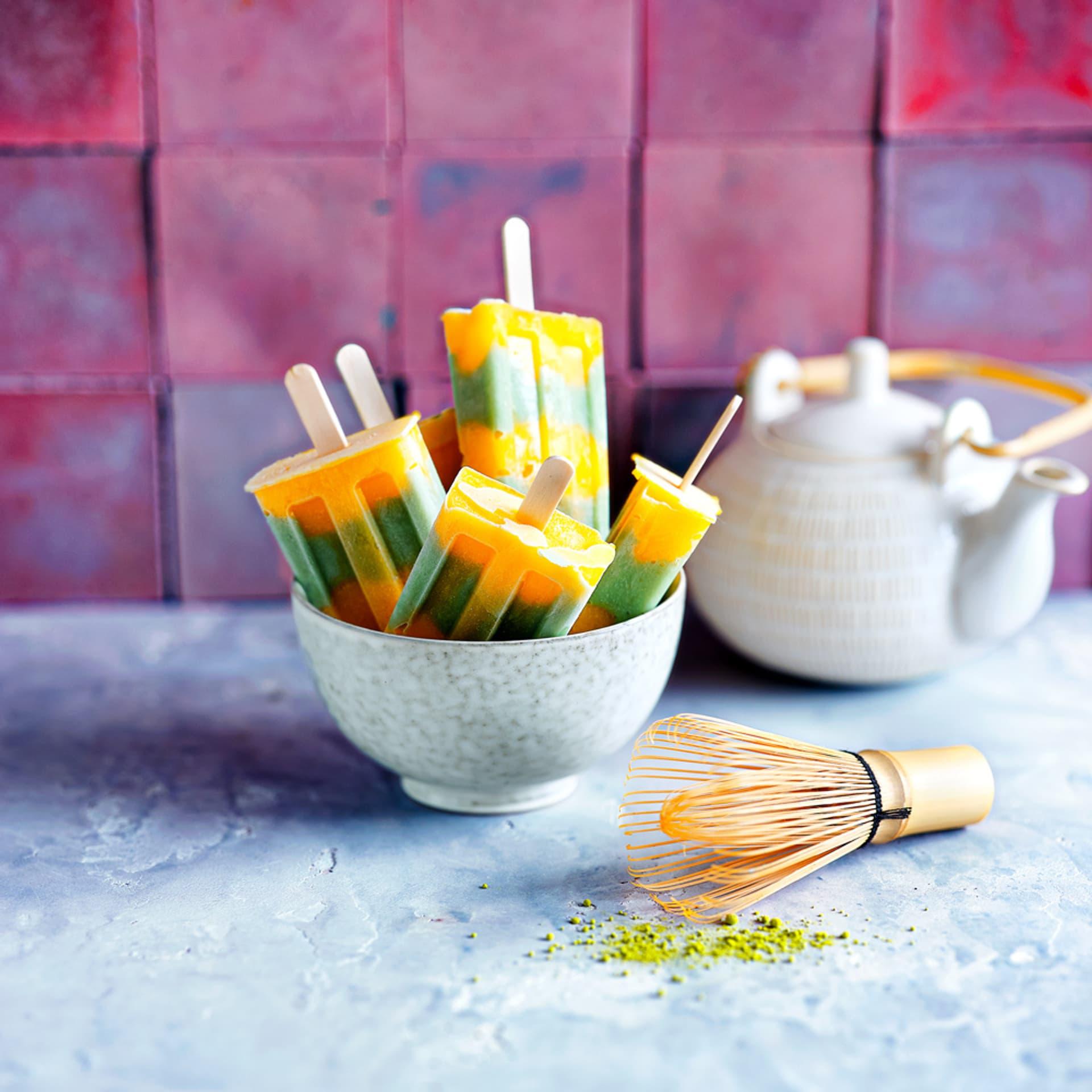 Matcha Mango Eis