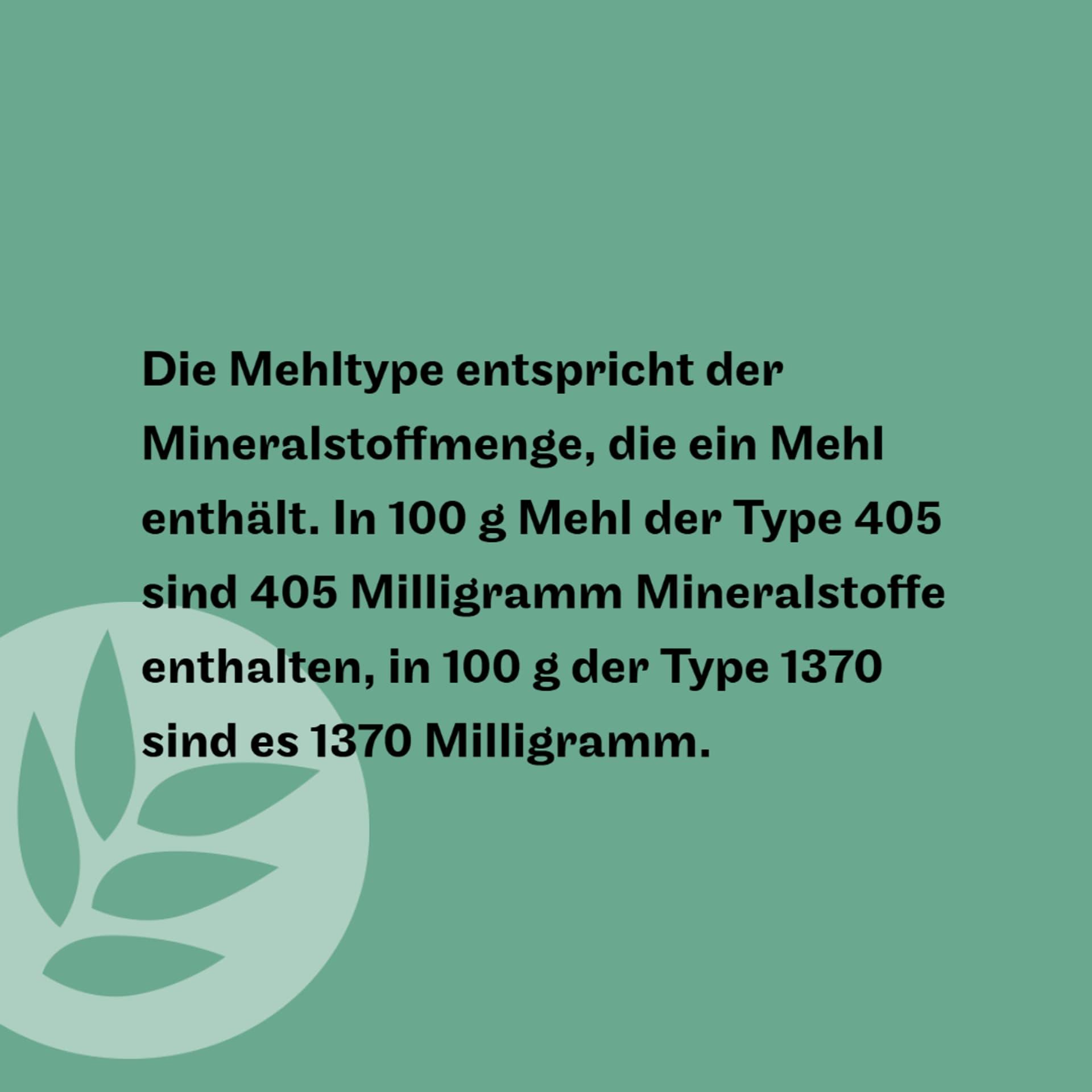 Mehltype