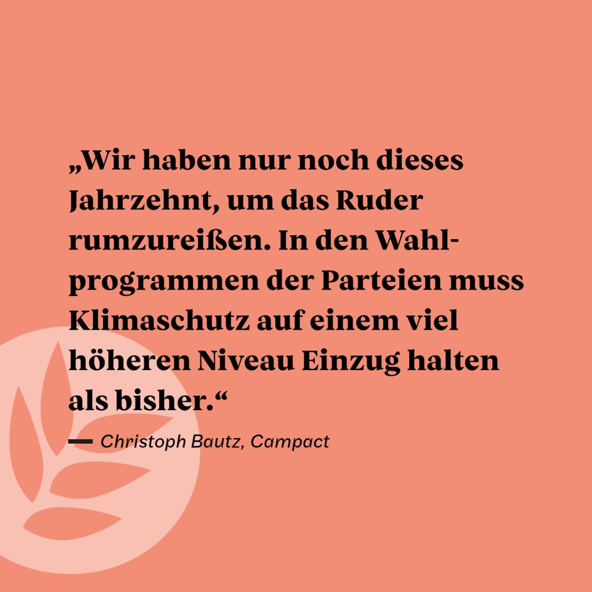 Zitat Christoph BAutz