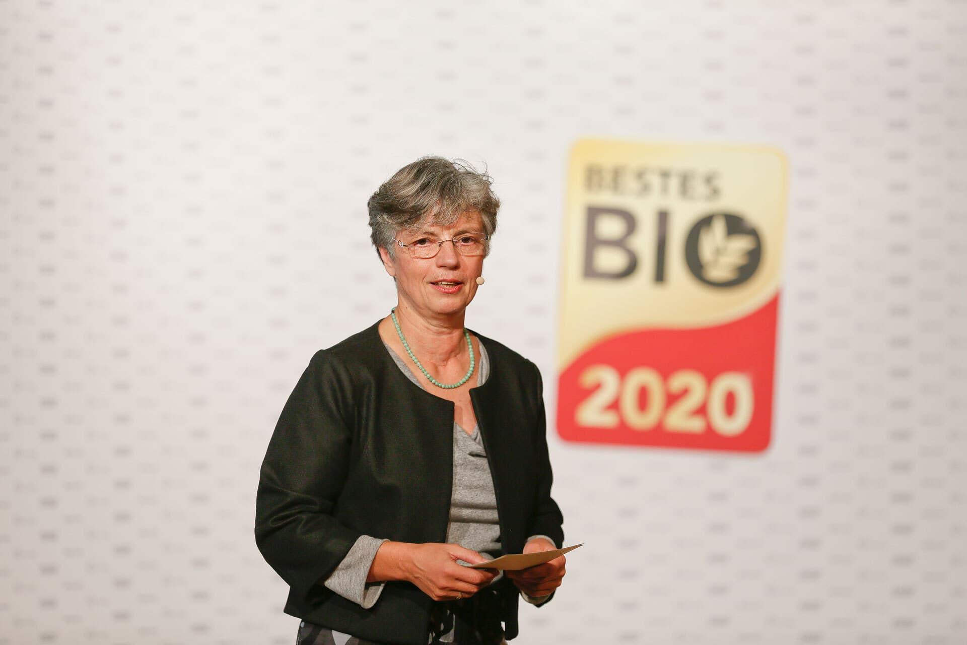 bio-verlag-Geschäftsführerin Sabine Kauffmann Bestes Bio 2020