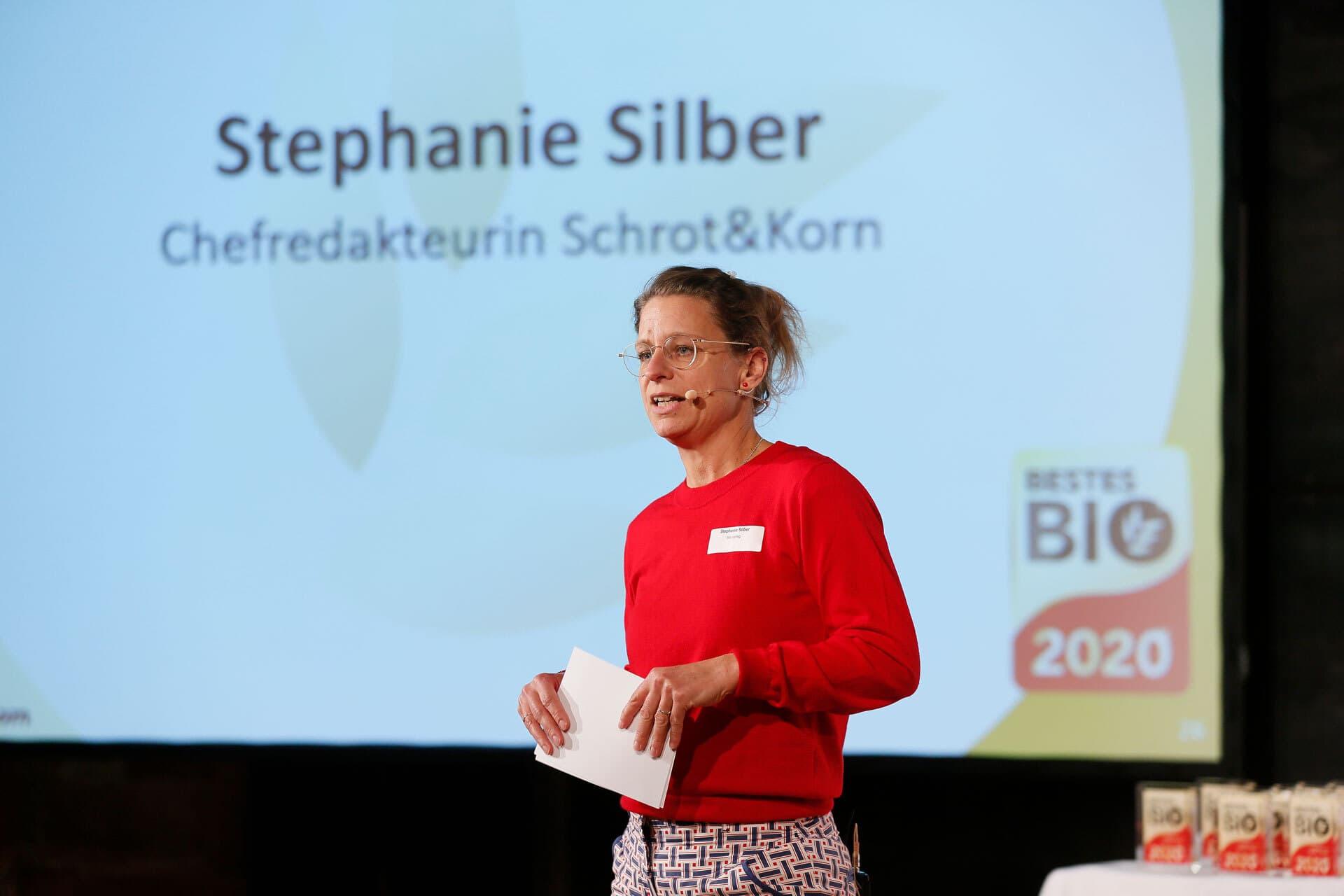 Schrot&Korn-Chefredakteurin Stephanie Silber Bestes Bio 2020
