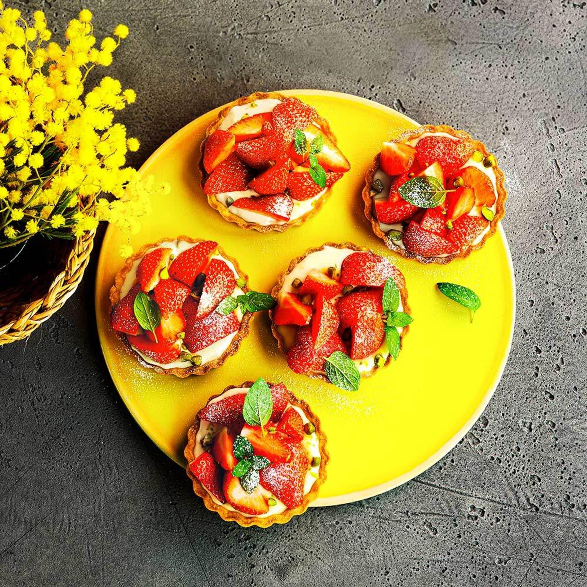 Erdbeer Tarteletts