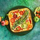 Tomaten Zucchinie Quiche