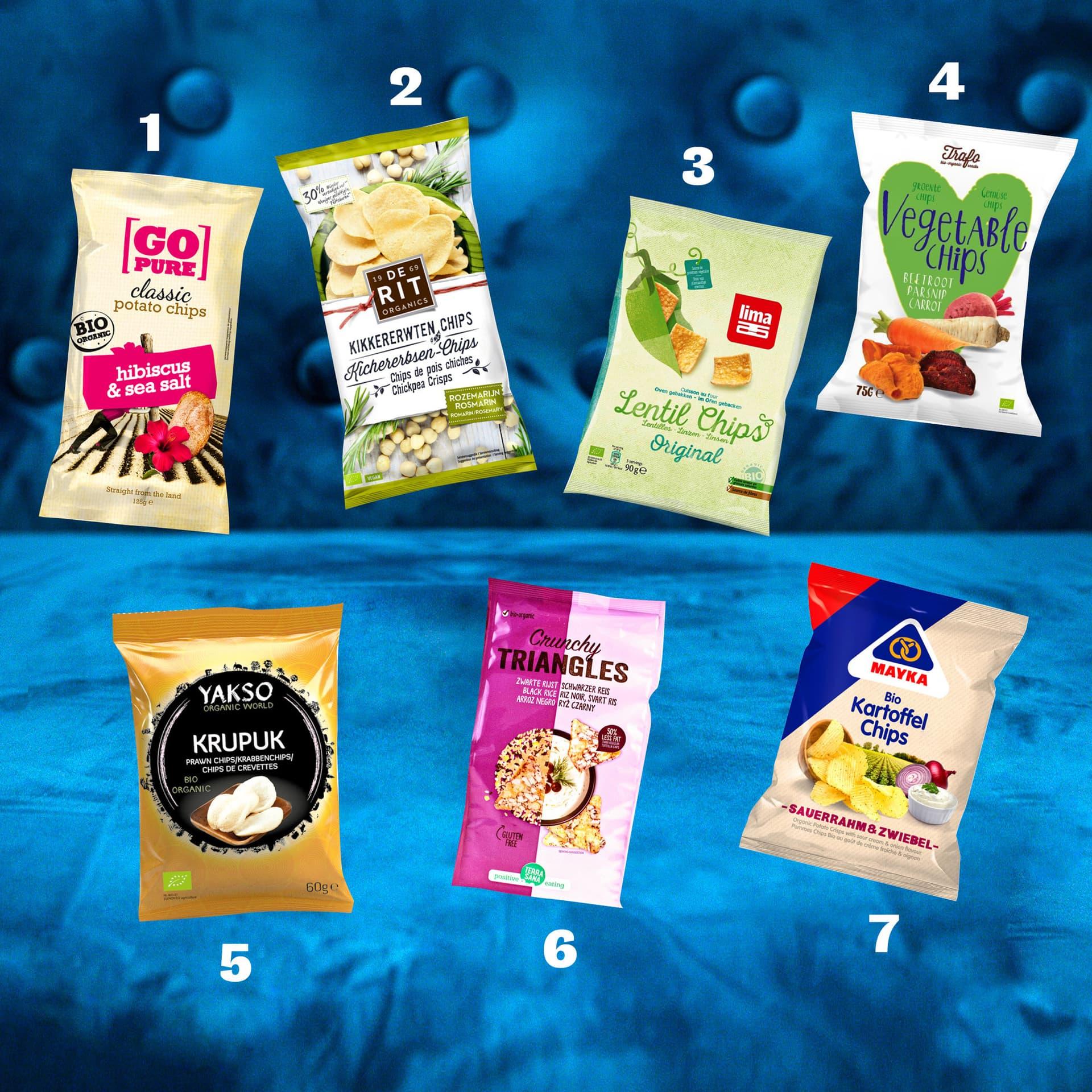 Unsere 7 Lieblings-Chips-Tüten