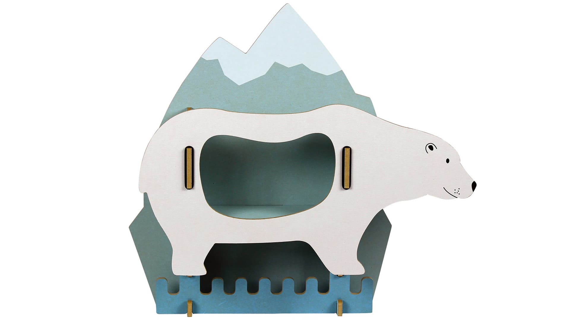 Dicke Tiere Garderobe Eisbär