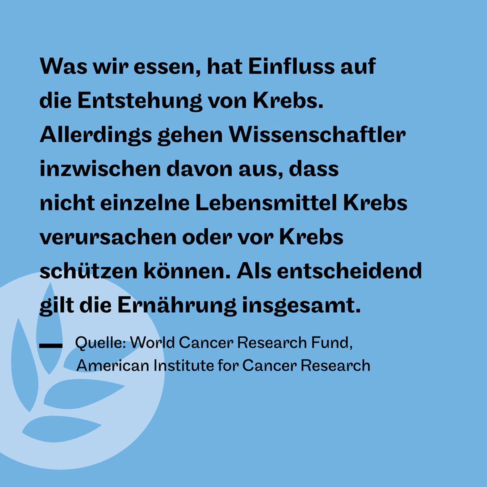 Krebs Zitat