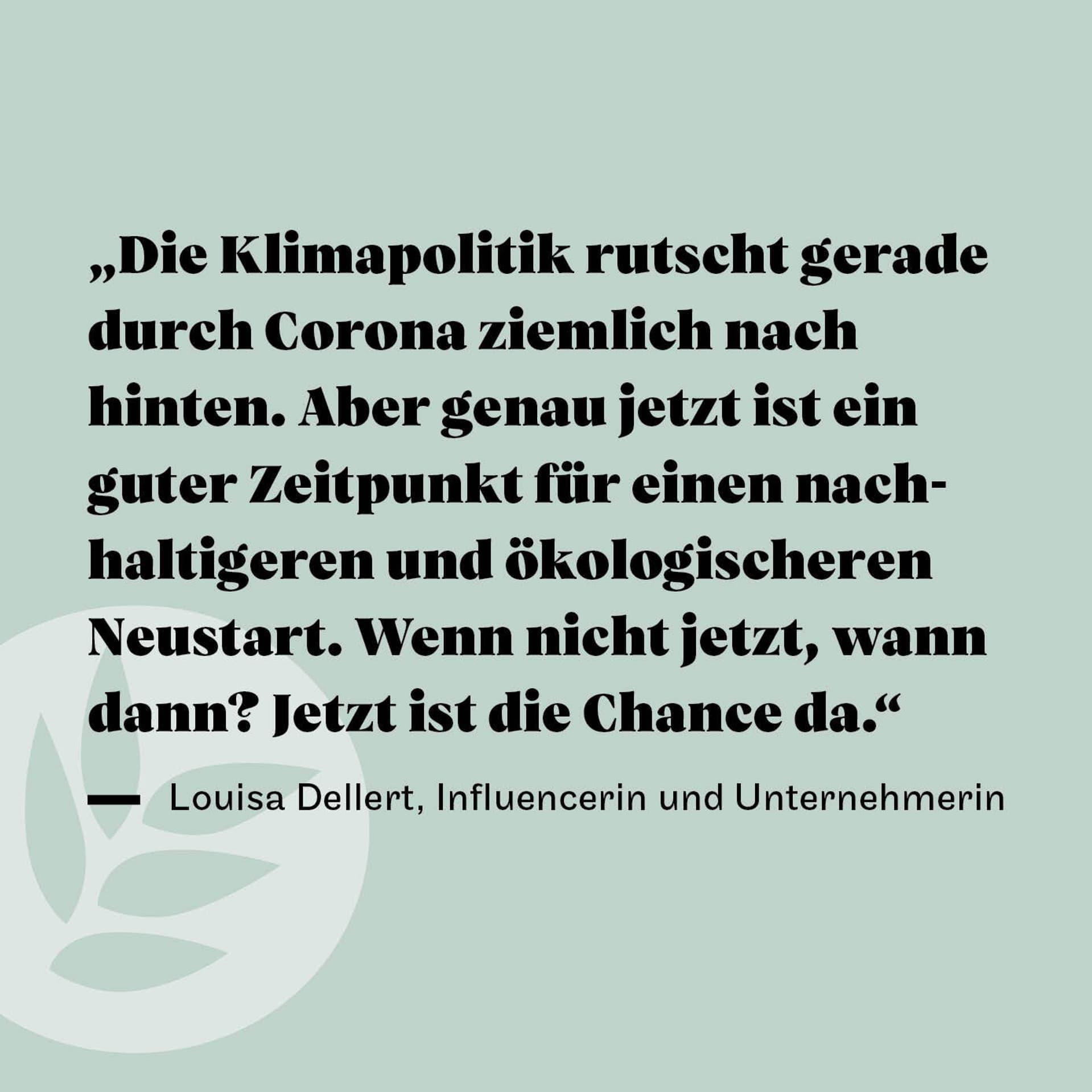 Louisa Dellert Zitat