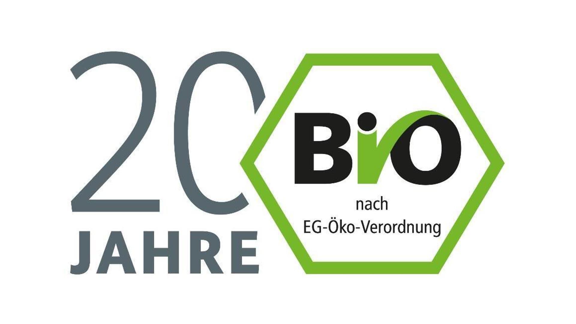 Grafik 20 Jahre Bio-Siegel