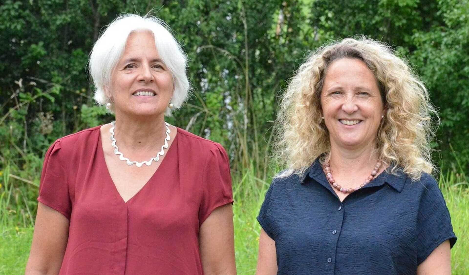 Bernadette Oehen und Barbara Früh