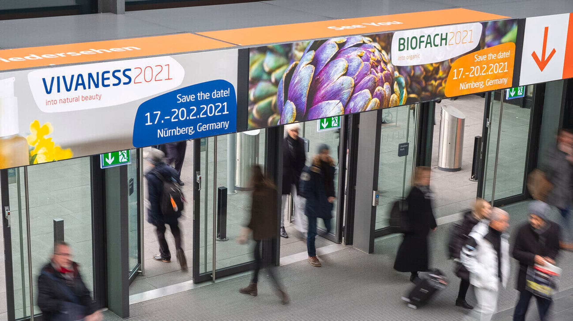Ausgang Biofach 2020