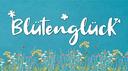 Blütenglück Schriftzug