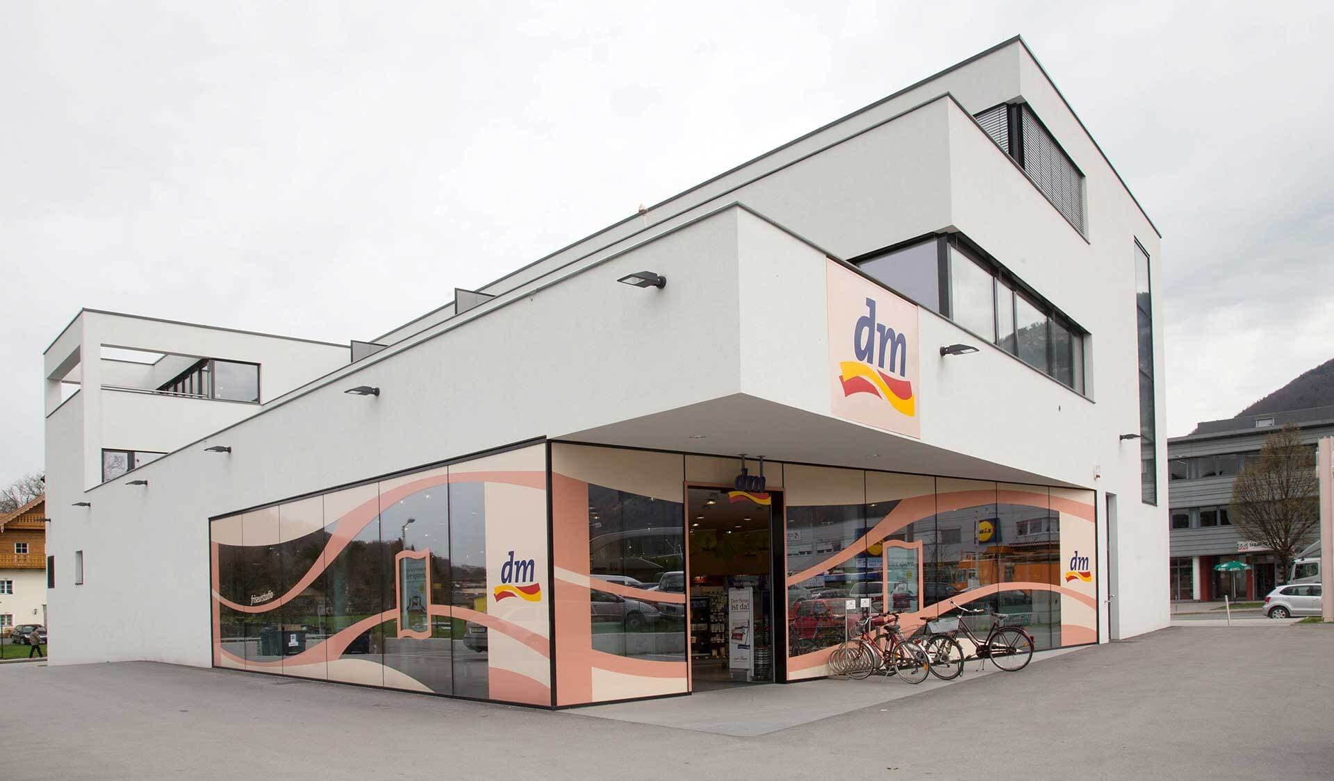 DM-Filiale in Salzburg