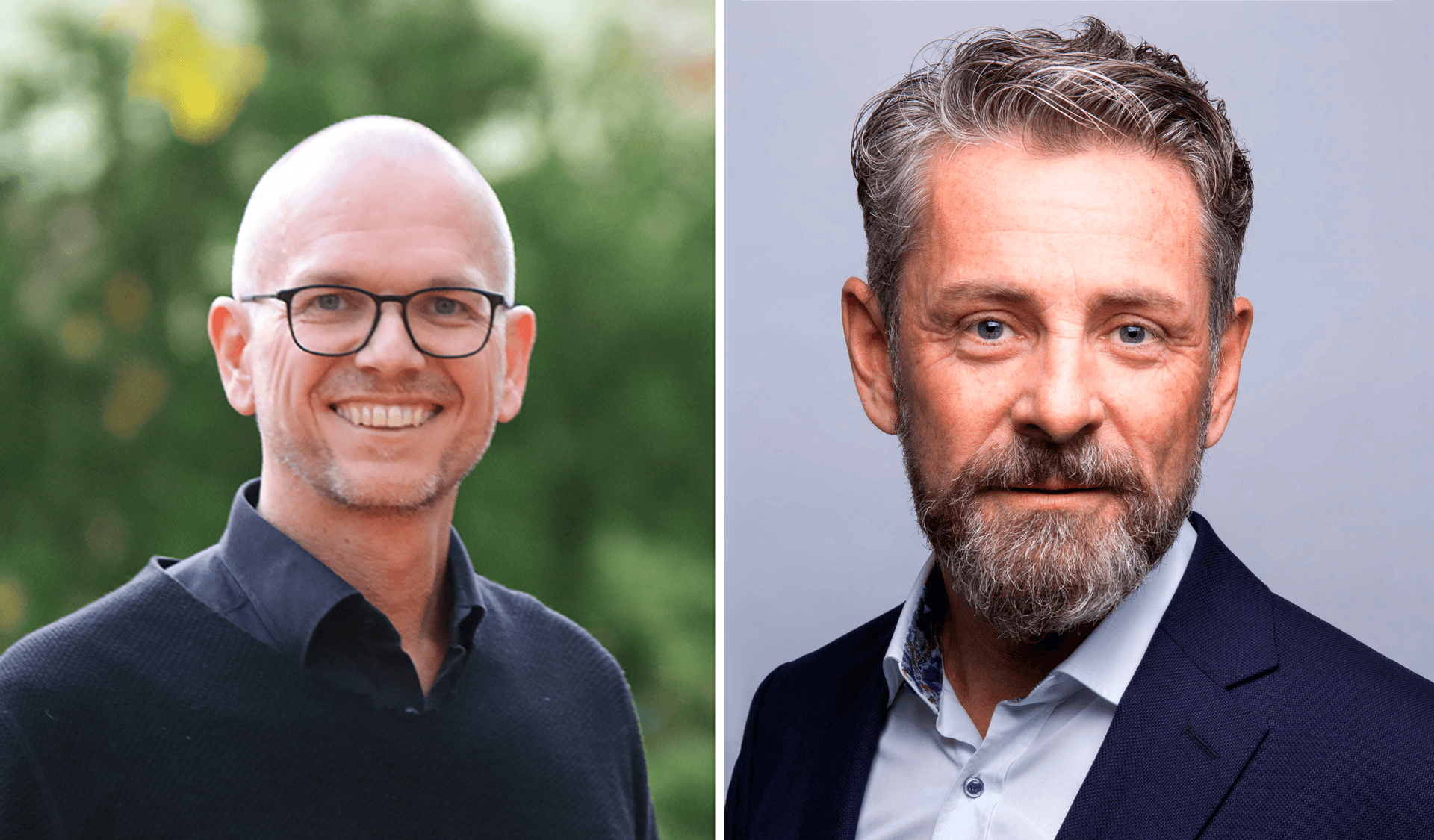 Alexander Gerber und Andreas Schopper