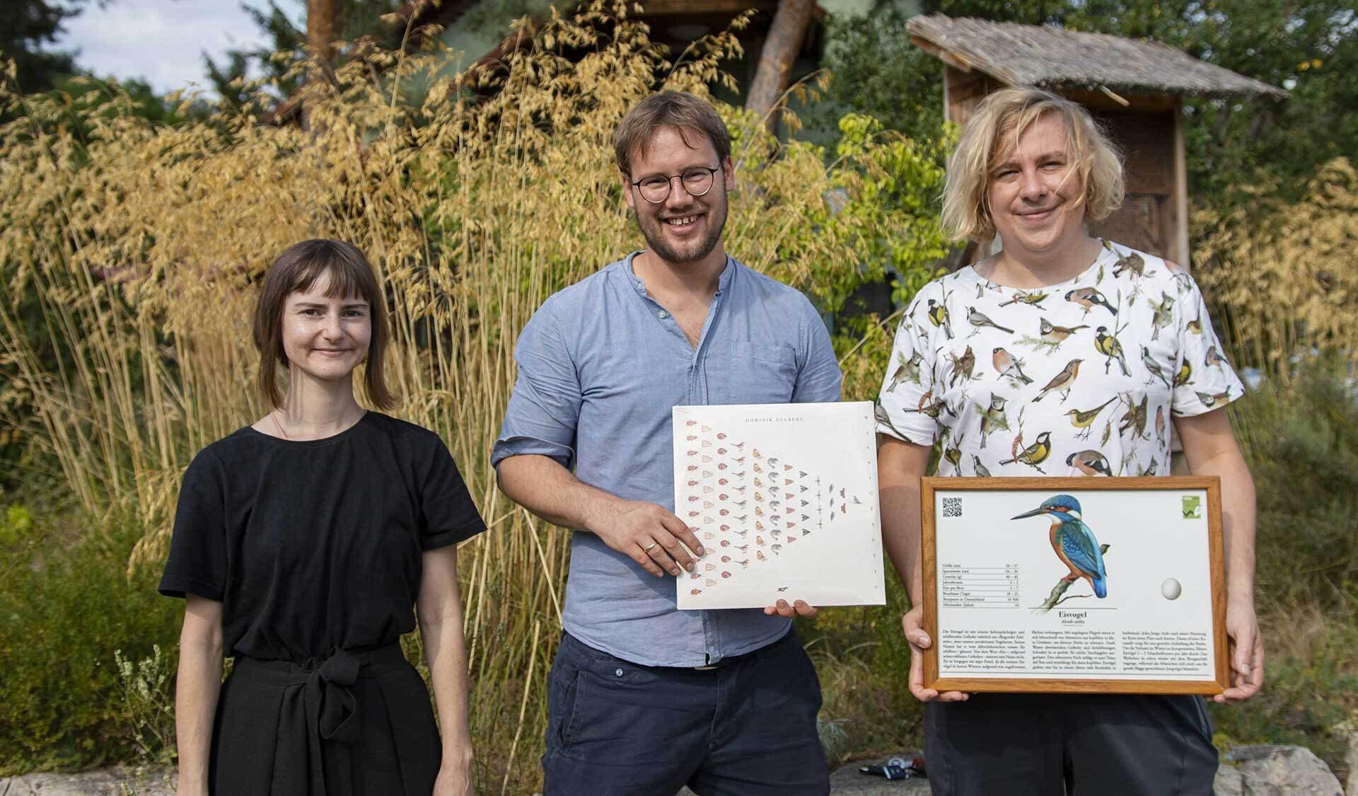 Natalia Eulberg, Jurek Voelkel und Dominik Eulberg