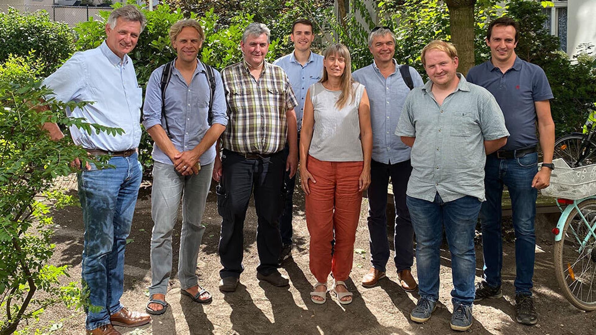 Gruppenfoto: FBB Gesellschafter
