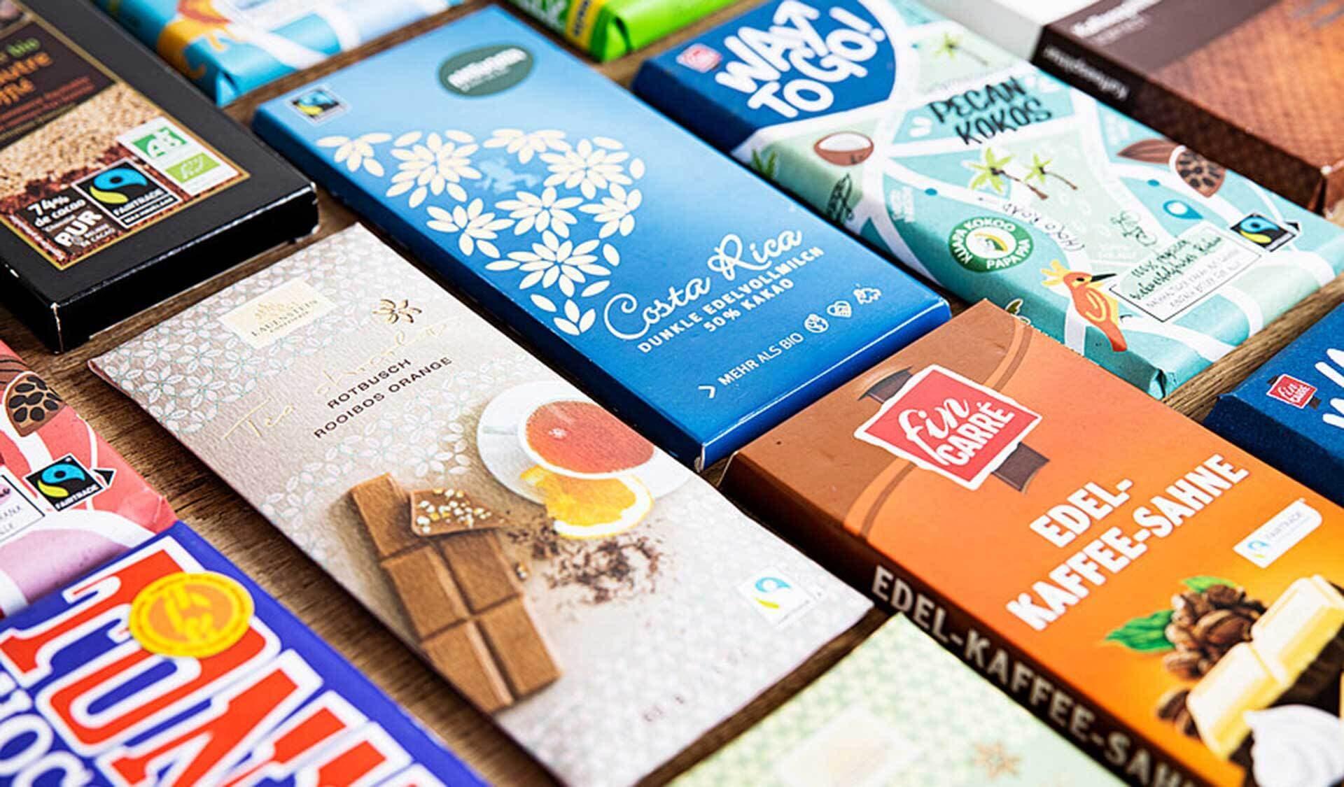 Fairtrade Schokoladen