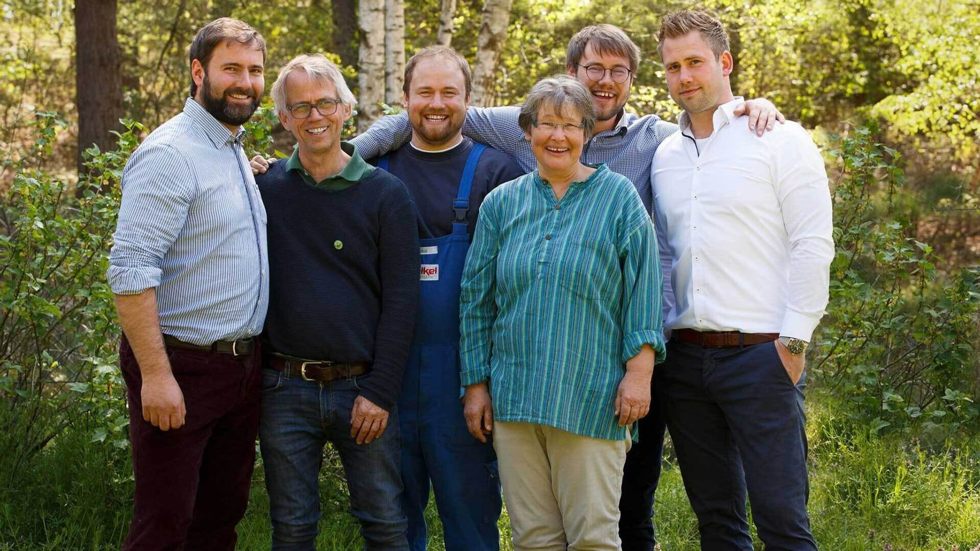 Boris, Stefan, David, Grita, Jurek, Jacob Voelkel