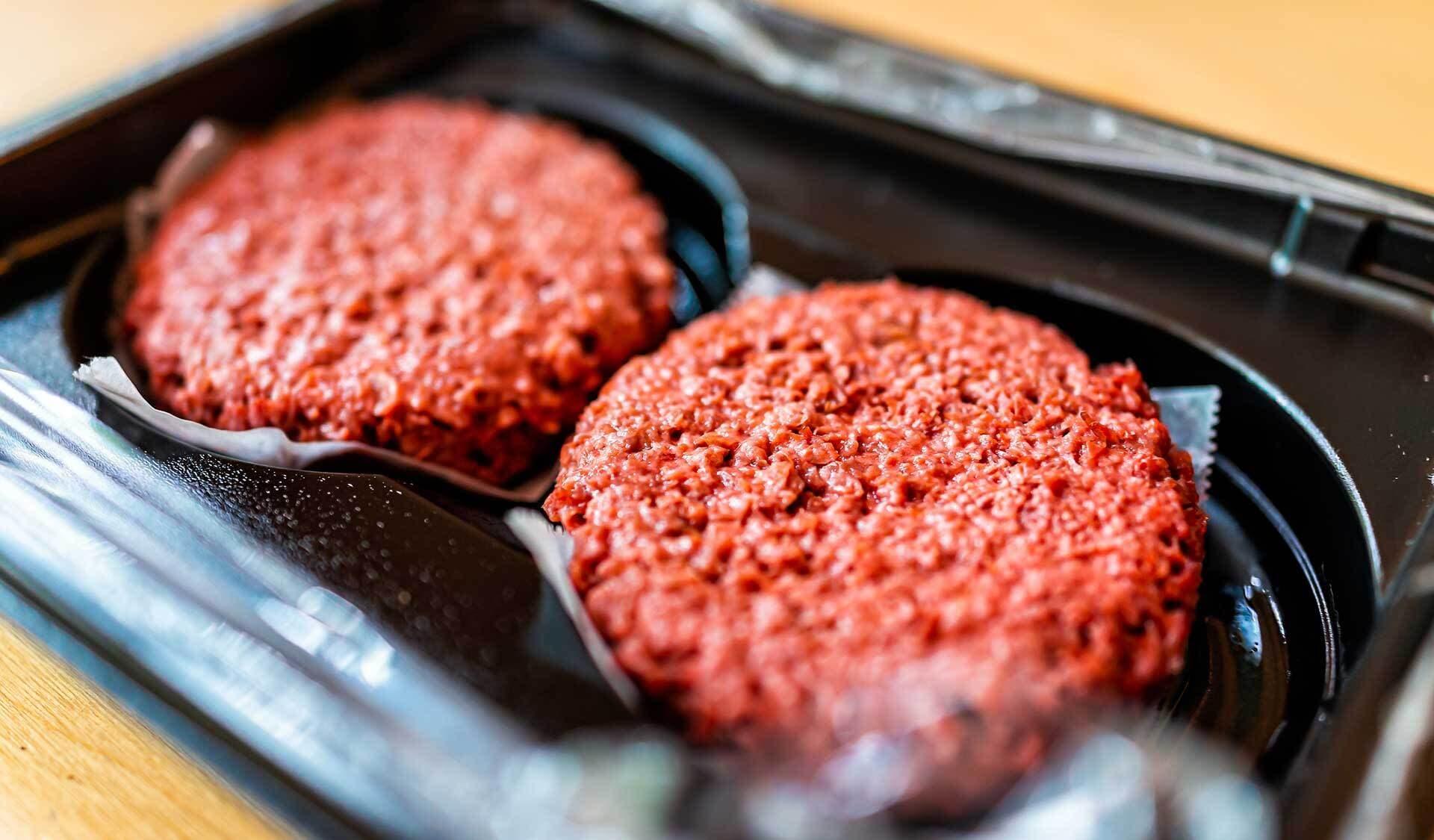 Vegane Hackfleisch-Burger