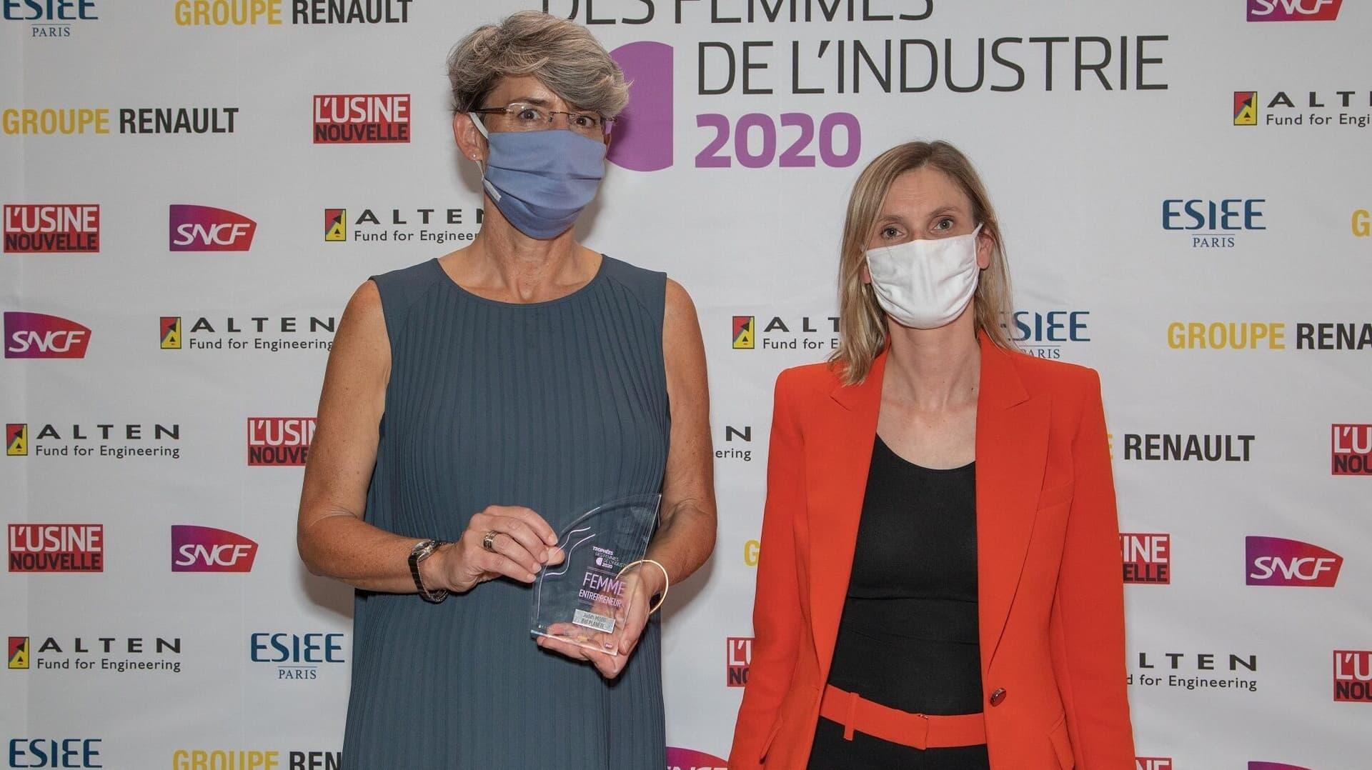 Judith Moog und Agnes Pannier Runacher