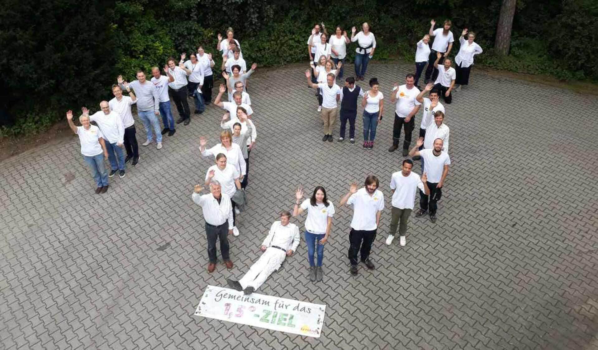 Kornkraft Mitarbeiter Klimastreiktag