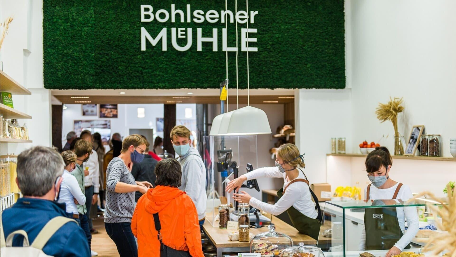 Laden Eroeffnung Bohlsener Mühle Innenansicht