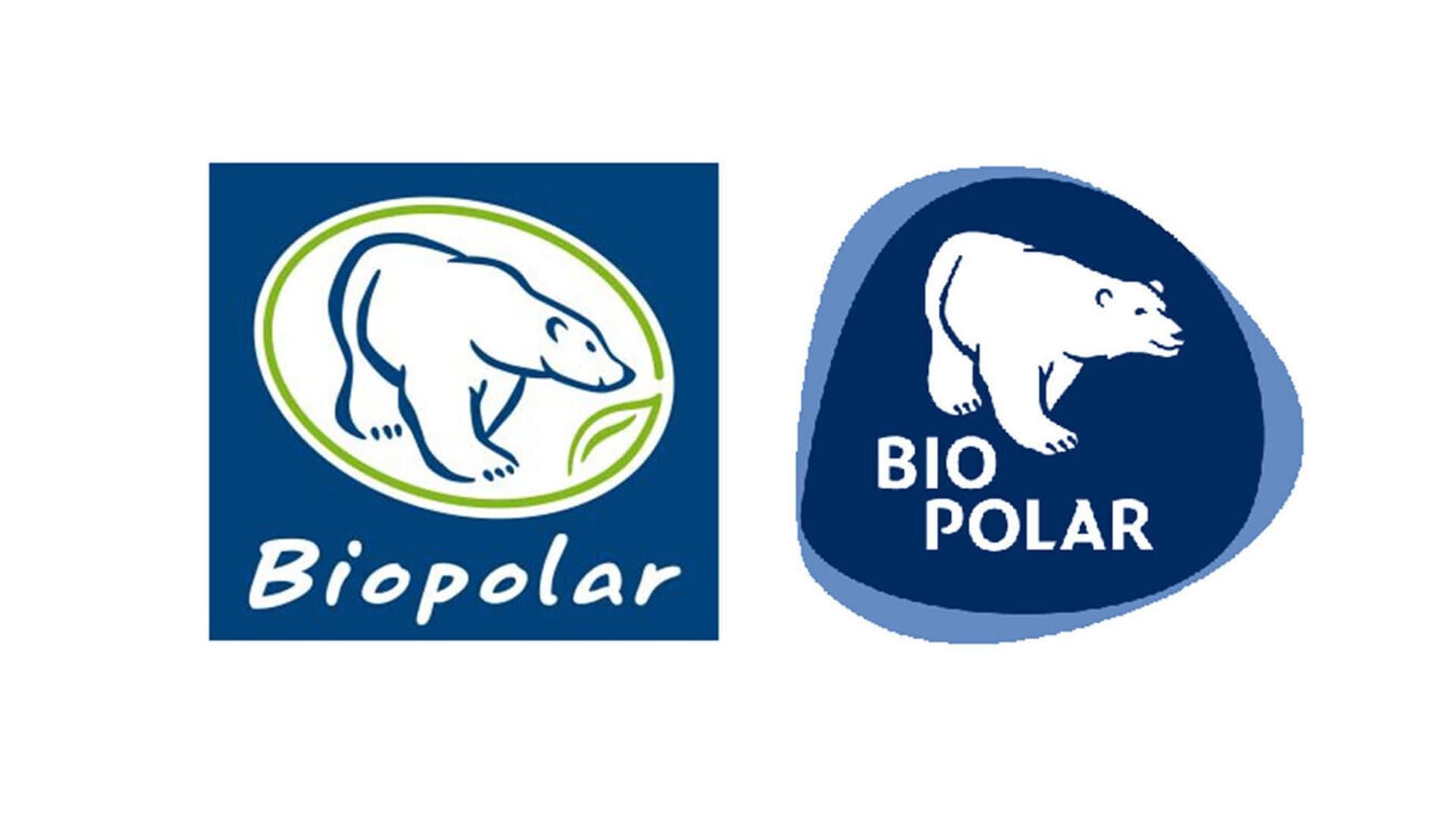 Biopolar-Logos alt und neu